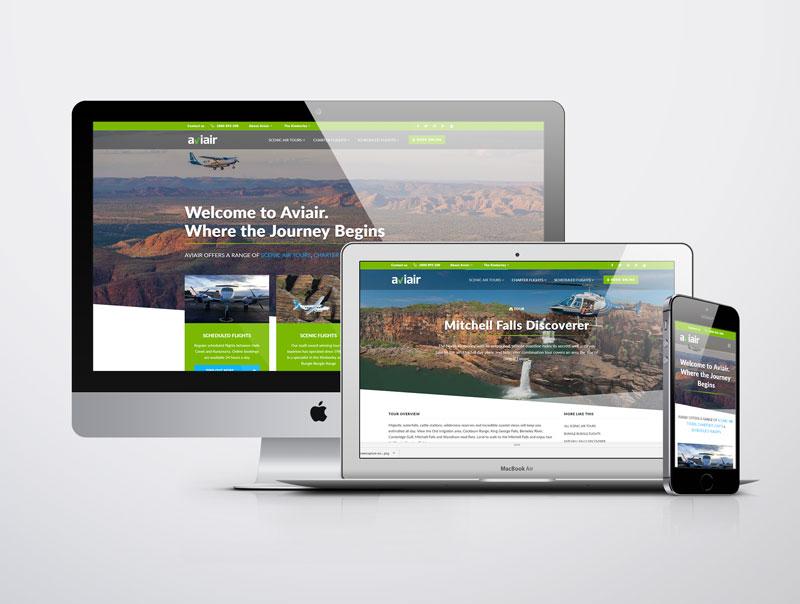 Takeflite designs new look website for Aviair.