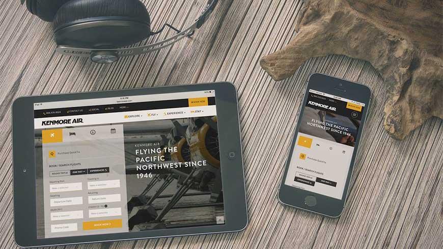 Takeflite Design's new kenmoreair.com